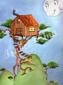 ilustracion la casa del árbol1