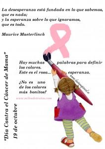 Pinceladas contra el cancer
