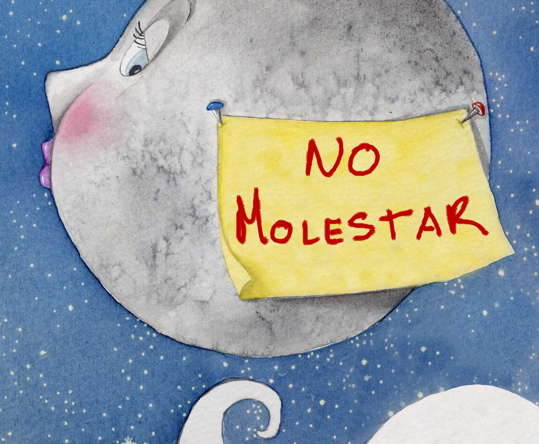 Luna no molestar