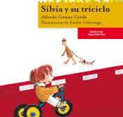 Silvia y su triciclo