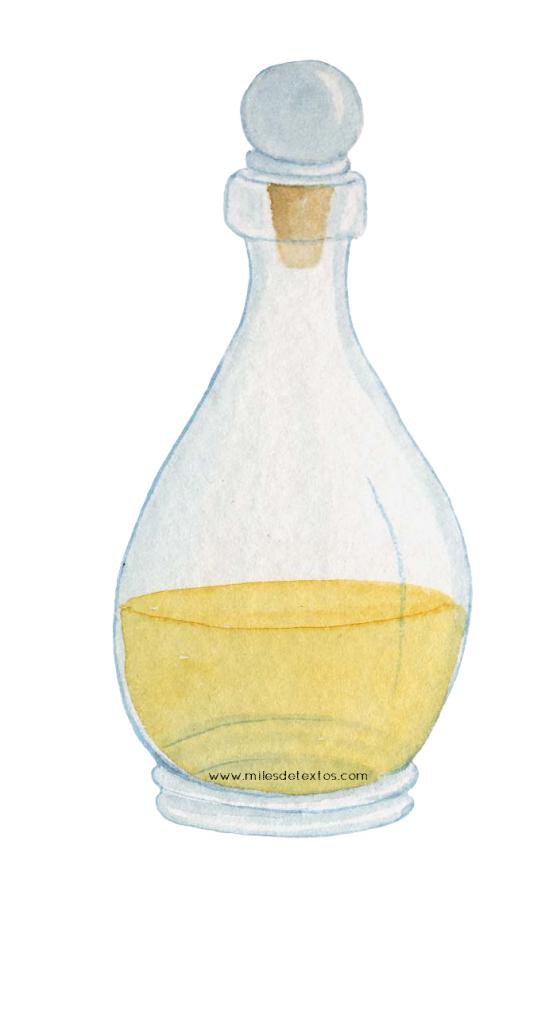 frasco amarillo