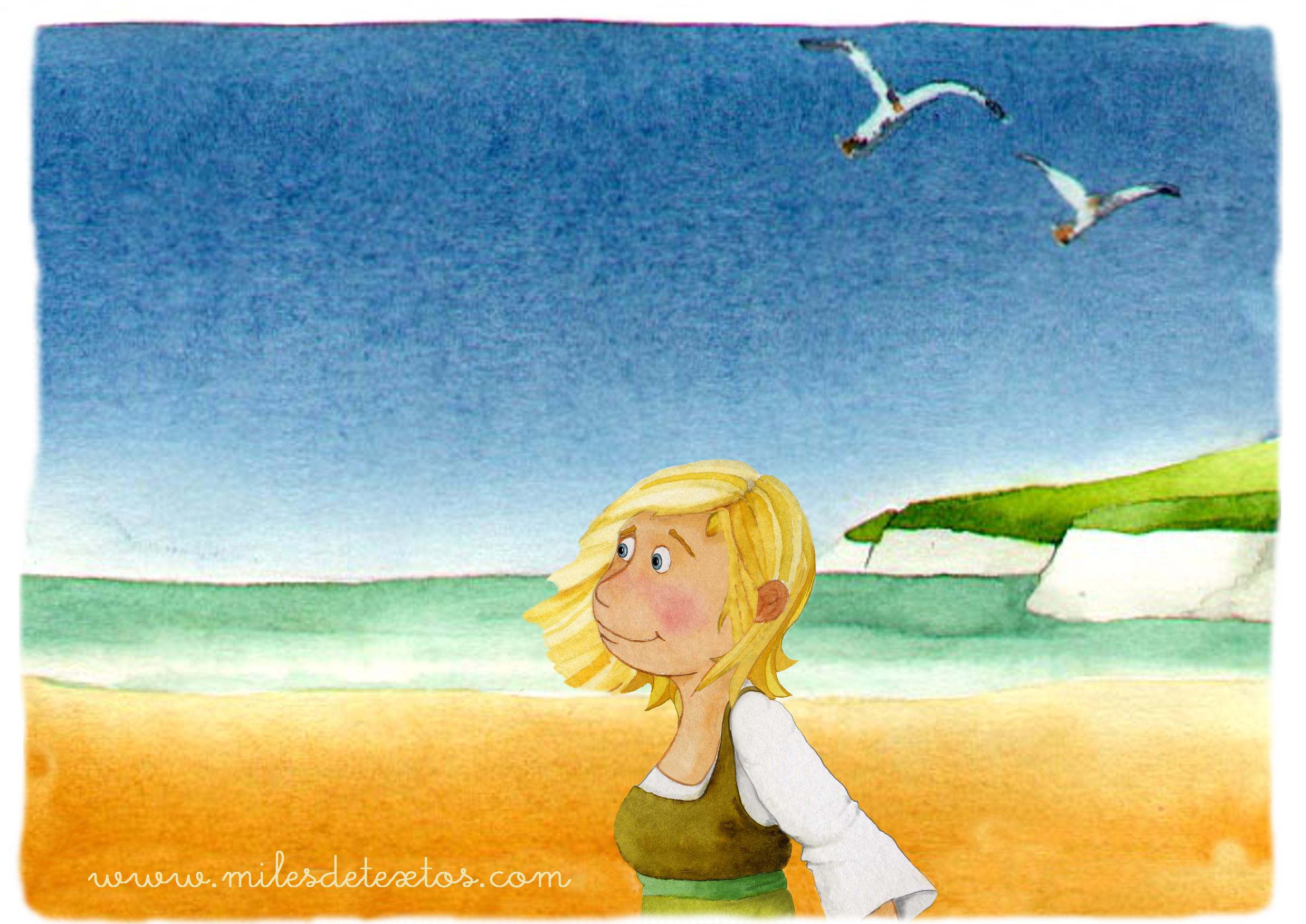 Marta playa.Milesdetextos