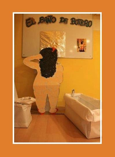 el baño de Botero-Projardin