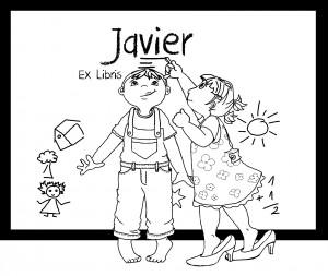 Ex libris.Javier