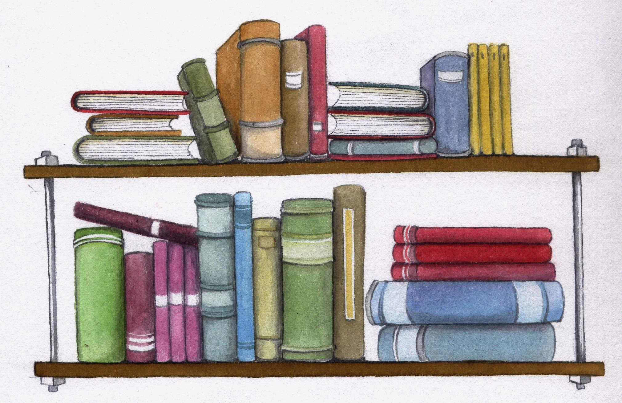 Estanteria libros miles de textos Estanteria de libros