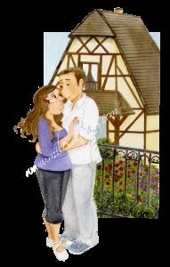 Laura y Román