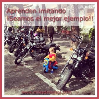 Aprenden imitando. www.milesdetextos.com