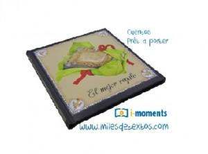 Un regalo para  en Imomets & www.milesdetextos.com