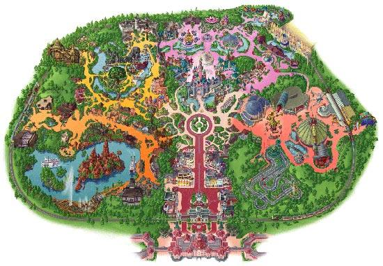 Efteling-Mapa Parque2