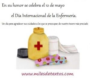 Día Internacional de la Enfermería.. wwww.milesdetextos.com..
