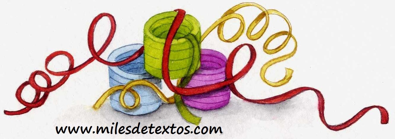 Miles de textos, serpentina