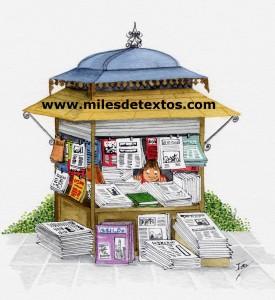 Kiosco Miles de Textos.