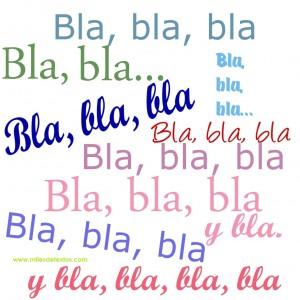 Bla bla-www.milesdetextos.com