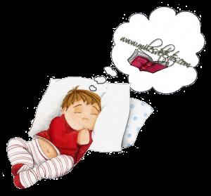 Niño-soñando. miles de textos