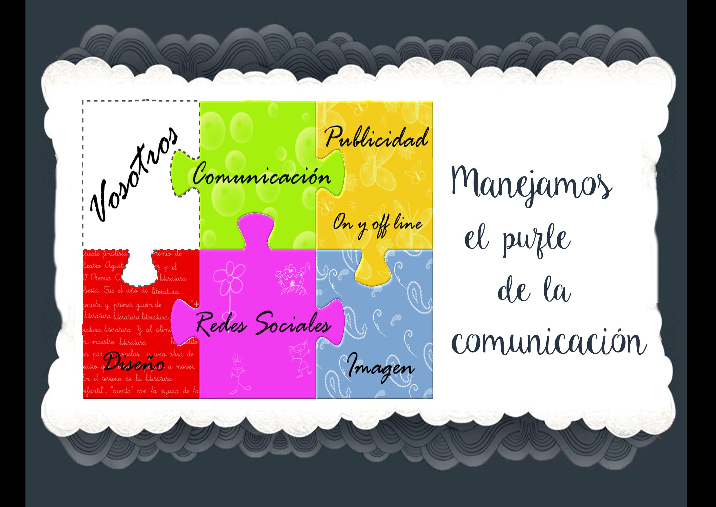 púzle de la comunicación web