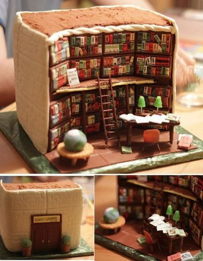 Biblioteca tarta