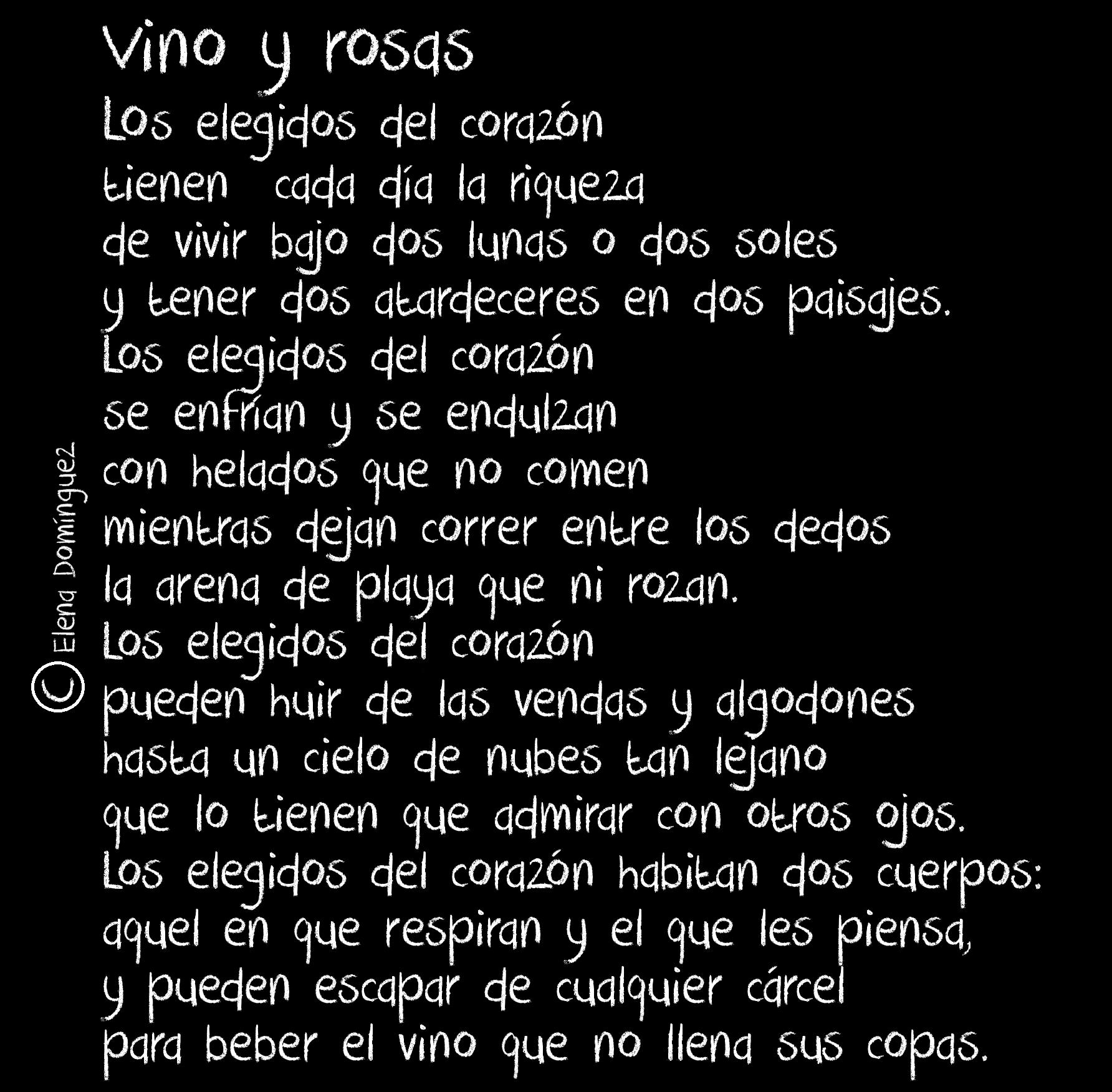 vino y rosas.jpg.... poesías de www.milesdetextos.com