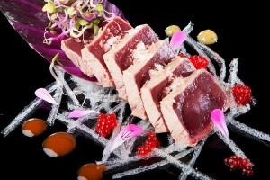 RestFranciscoLaFontanilla0025 tataki de atún de almadraba con salsa de soja y miel